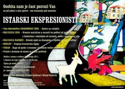 Newsletter - Istarski ekspresionisti