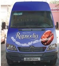 Dekor vozila - motiv Rapsodia