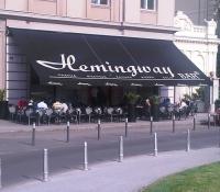 Hemingway Lounge Bar Zagreb - tenda