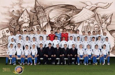 100 godina Hajduka - kalendar, naslovnica