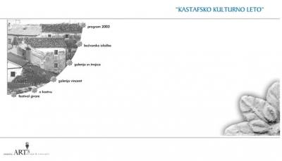 Web stranica - Kastafsko kulturno leto