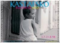 Plakat za Kastafsko kulturno leto 1998.