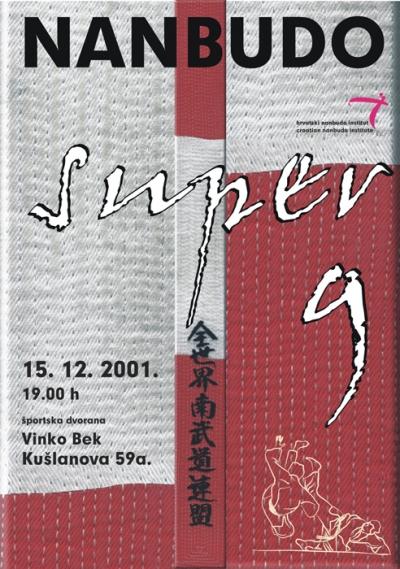 Plakat - Hrvatski nanbudo institut