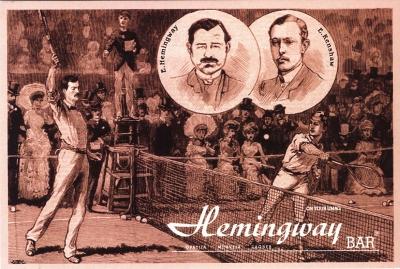 Razglednica - Hemingway Umag