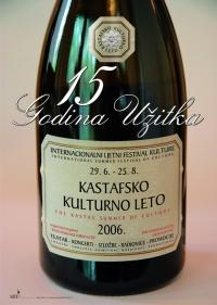 Plakat za Kastafsko kulturno leto 2006.