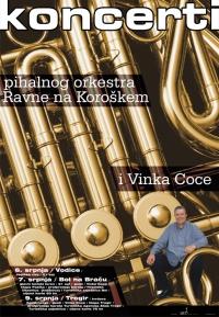 Vinko Coce i puhači - plakat