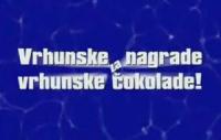 Vrhunske nagrade za vrhunske čokolade, prvi krug - TV spot
