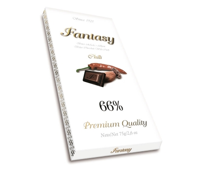Tamna čokolada Chilli, 66% kakaa - Fantasy