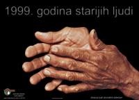 1999. godina starijih ljudi - plakat na hrvatskom
