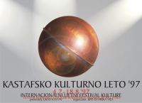 Plakat za Kastafsko kulturno leto 1997.