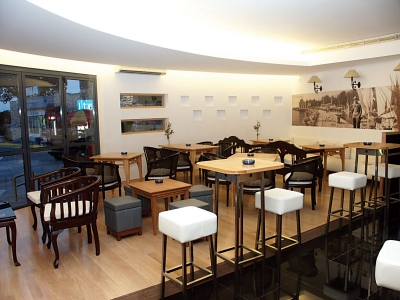 Hemingway Opatija Lounge Bar - dizajn interijera