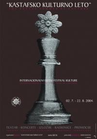 Plakat za Kastafsko kulturno leto 2004.