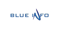 Logotip - Blue info