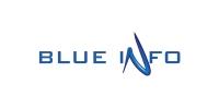 Logotip - Blue info