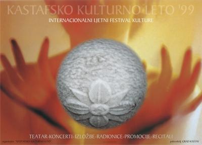 Plakat za Kastafsko kulturno leto 1999.