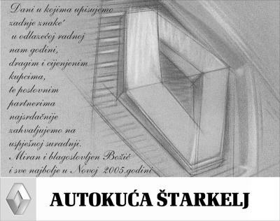 Čestitka - Autokuća Štarkelj