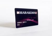 Članska iskaznica, prednja strana - Maraschino
