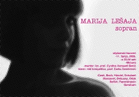 Plakat - Marija Lešaja