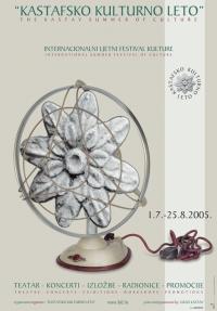 Plakat za Kastafsko kulturno leto 2005.