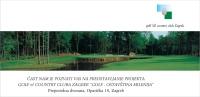 Pozivnica - Golf & Country Club