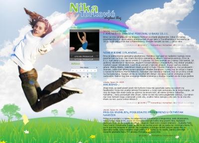 Nika Turković - blog