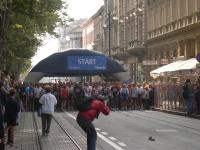 Sponzorstvo na Zagrebačkom maratonu 2004. - fotografija s eventa