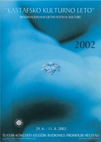 Plakat za Kastafsko kulturno leto 2002.