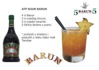 Serija koktela za Barun, gorki biljni likeer